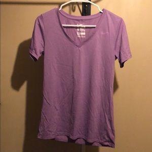 Light purple Nike tee